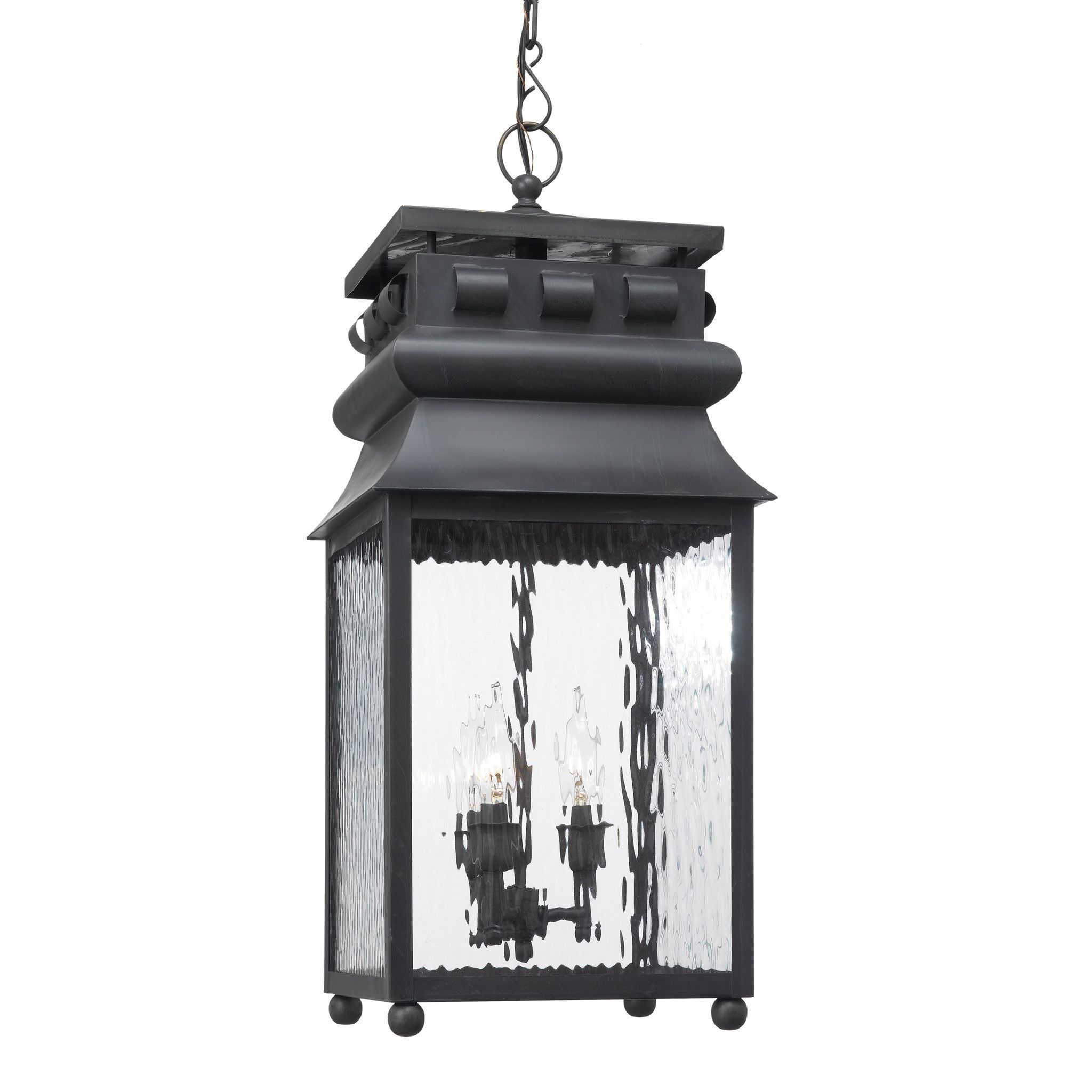 Elk Lighting Artistic 808 C Outdoor Hanging Lantern Lancaster