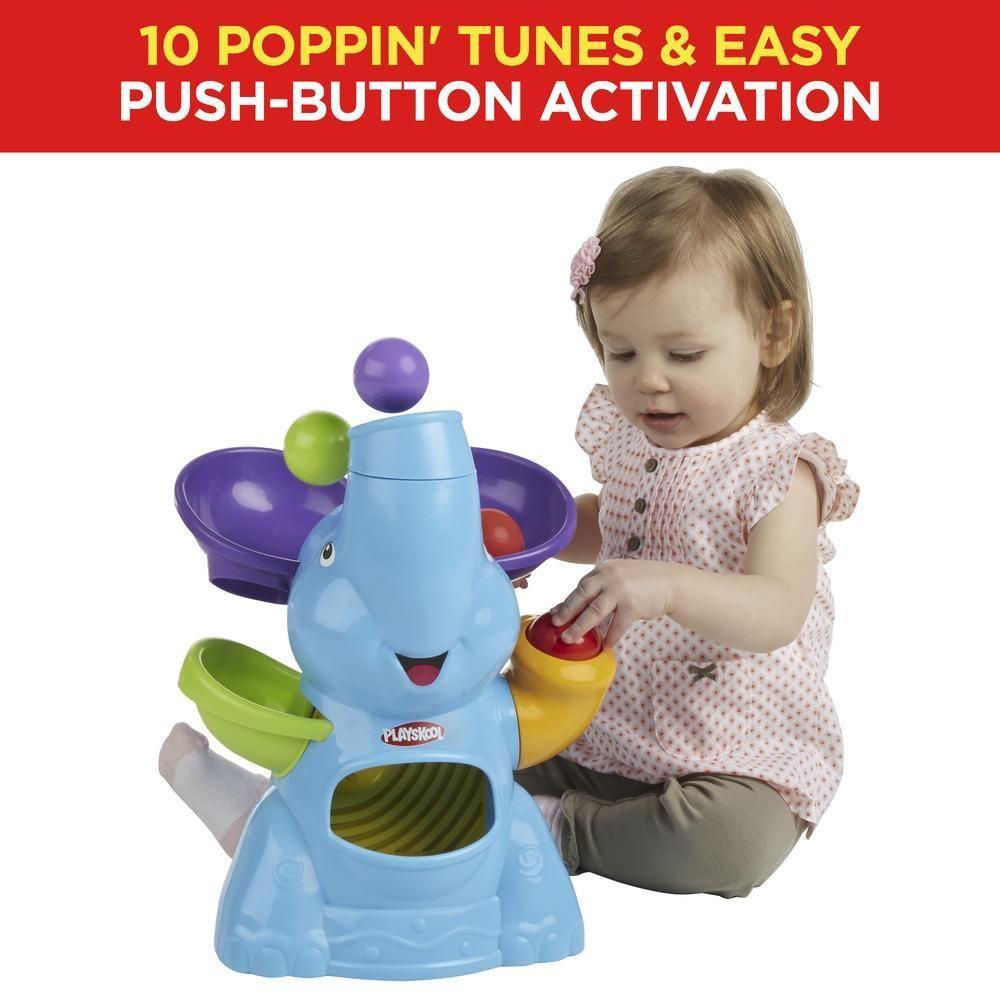 Playskool Poppin Park Elefun Busy Ball Popper Playskool Helping Kids Poppin Playskool