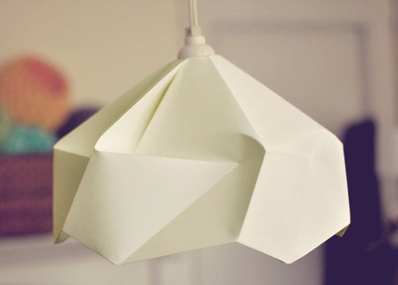 Origami paper lamp shade lantern snowflake decor ideas origami paper lamp shade lantern snowflake mozeypictures Gallery