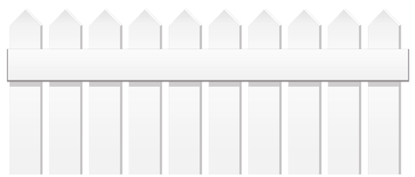 White Fence Png Clipart Modern Design White Fence Clip Art Fence