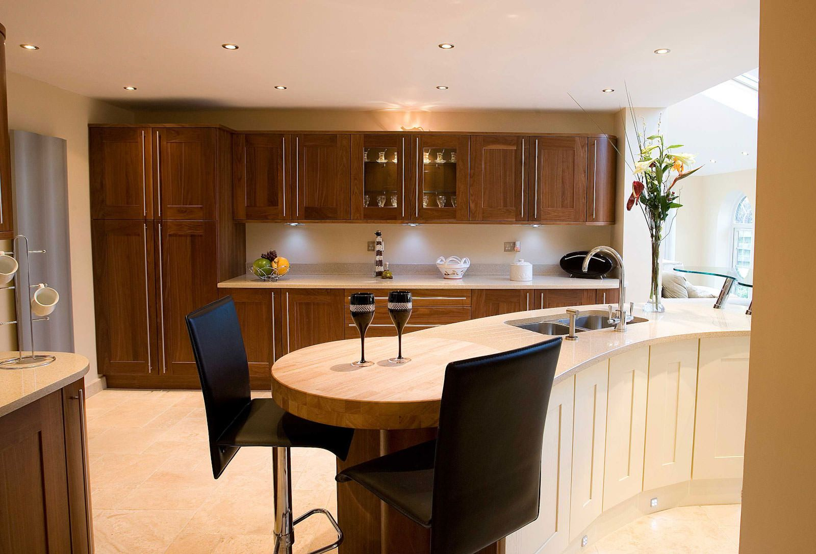 Kitchen Astonishing Breakfast Bar Design Pictures With