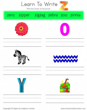 Worksheets Easy Kids Words That Start With X learn to write words that start with t free printable it looks like youre interested in our z we also offer many different kids worksheets on site