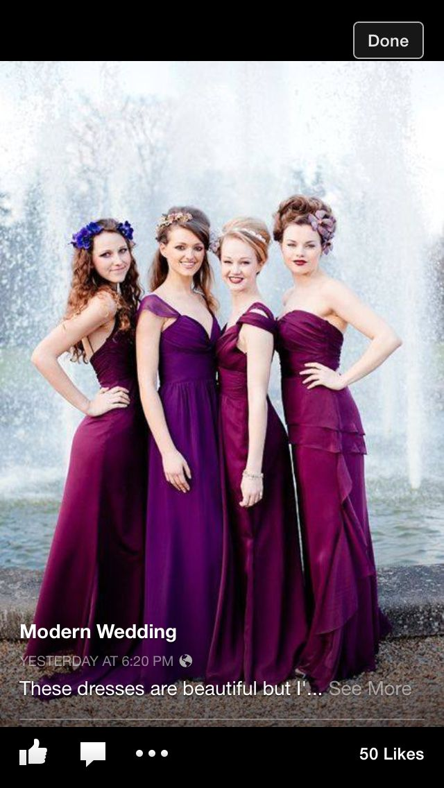 Bridesmaid dress idea? Love the color!   How Do I Look?: The Big Day ...