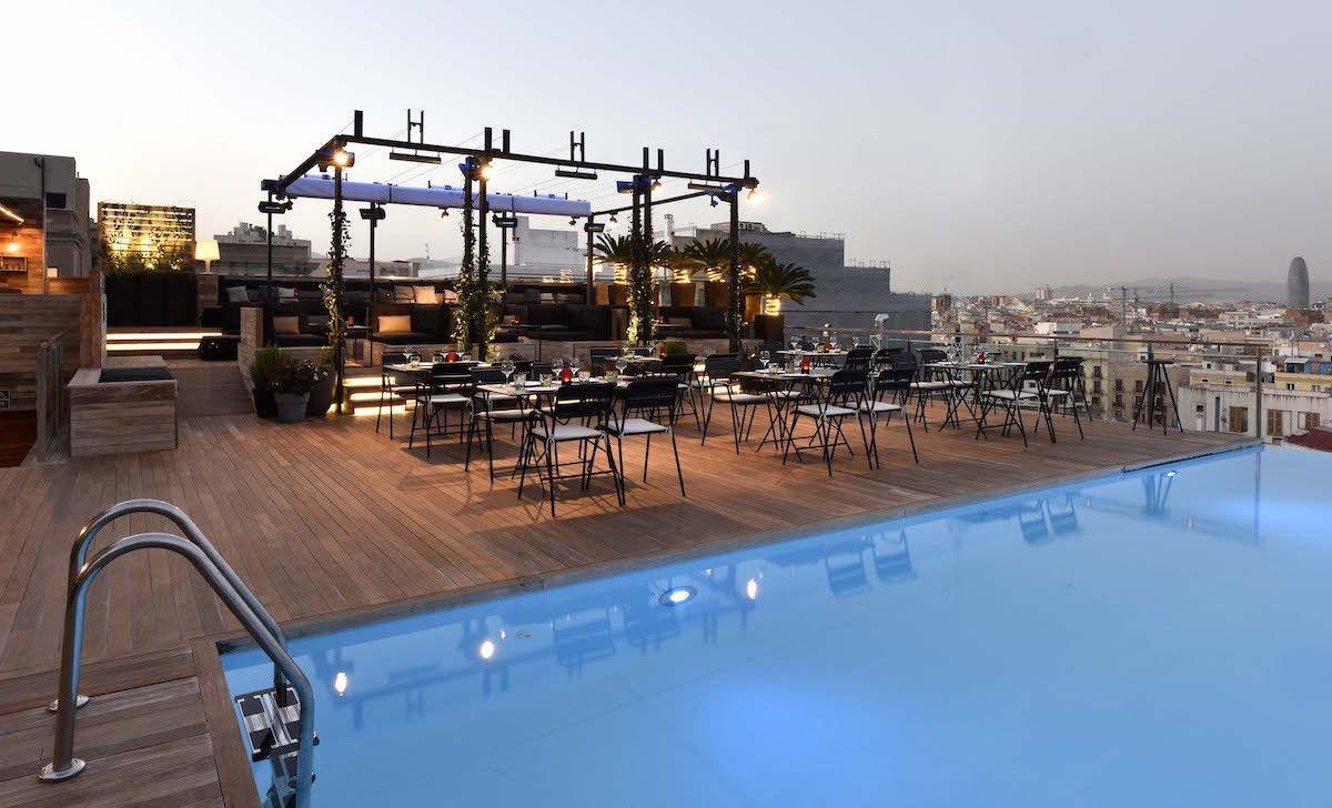 Barcelona's Best Rooftop Bars | Barcelona hotels, Best ...