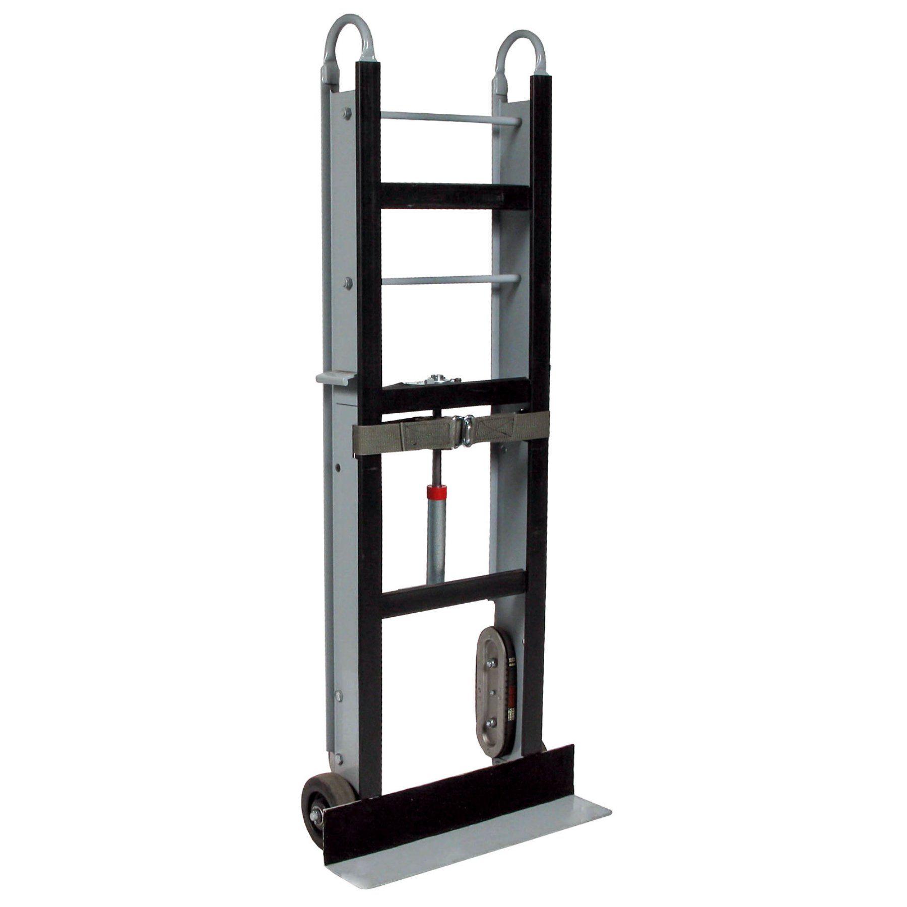 "Appliance Dolly Hand Truck Vending Machine 600 Lb Capacity Heavy Duty 6/"" Wheels"