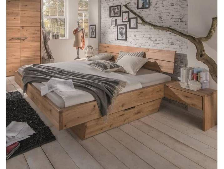 Massivholz Schwebebett Wildeiche System F 140x200 Cm Ohne Schubkaste In 2020 Home Decor Home Furniture