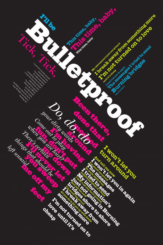 Expressive Typography Poster Emily Carr University Typography