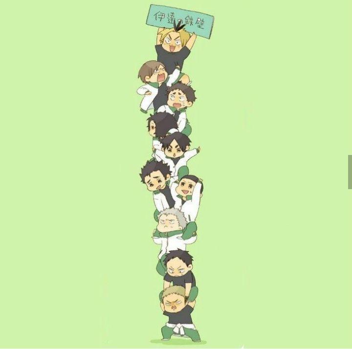 Śmieci Anime and BTS ( ͡° ͜ʖ ͡°){Haikyuu, BNHA, BTS }