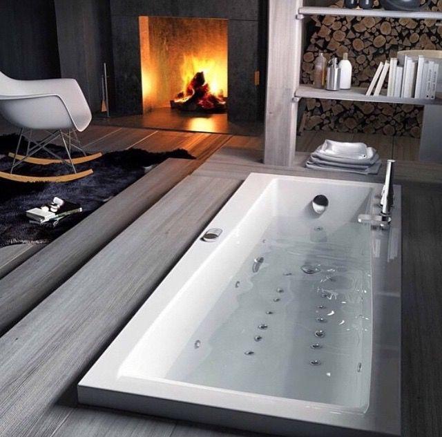 décoration d\'intérieur salle de bain moderne chaise à ...