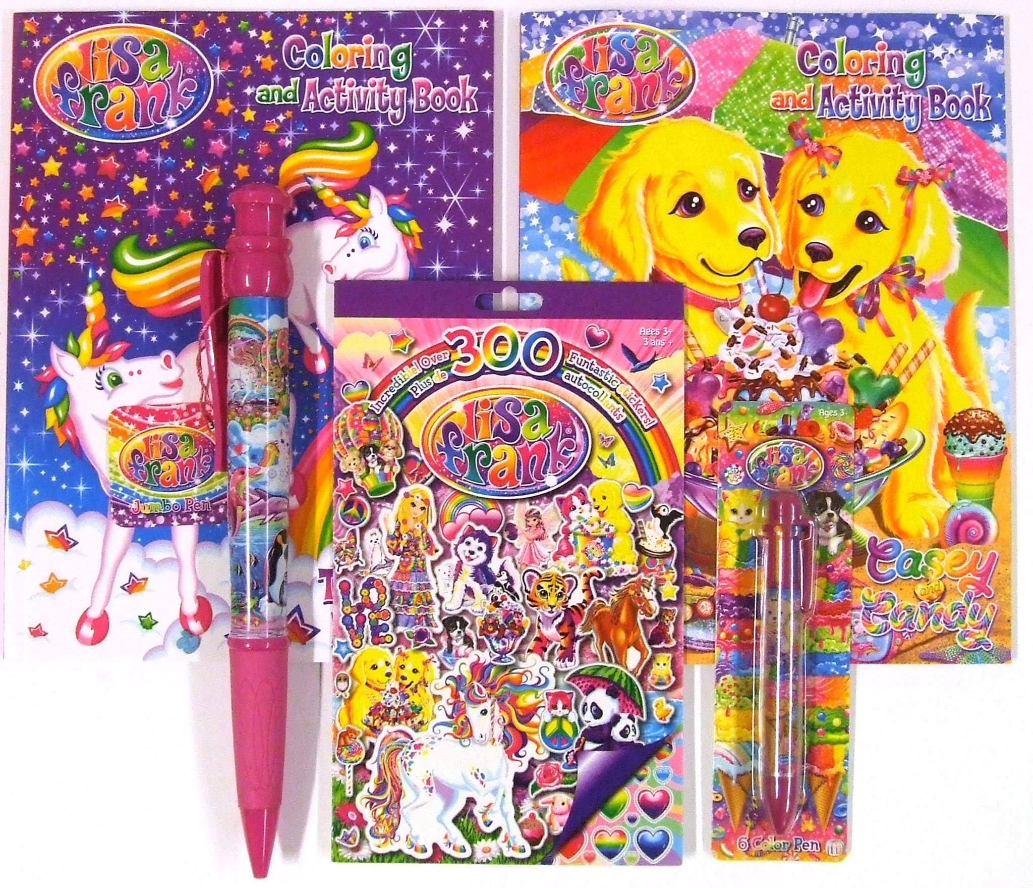 Hurry Available Now At Target One Spot Lisa Frank Coloring Books Lisa Frank Stickers Lisa Frank