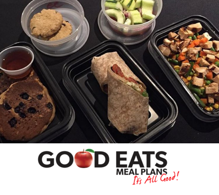 This is what a FULL day of food looks like from Good EATS, and the best part  It's UNDER 1300 calories!
