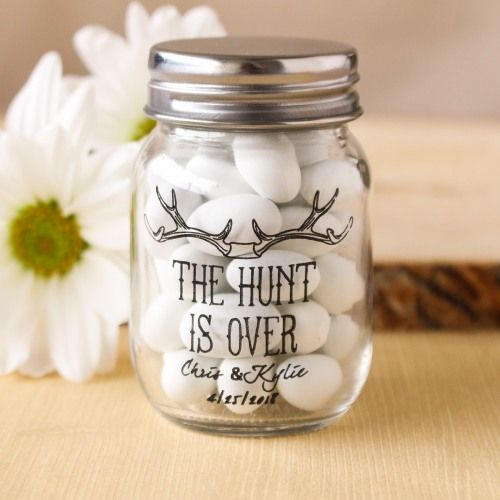 Favors Printed Mini Mason Jars By Beau Coup