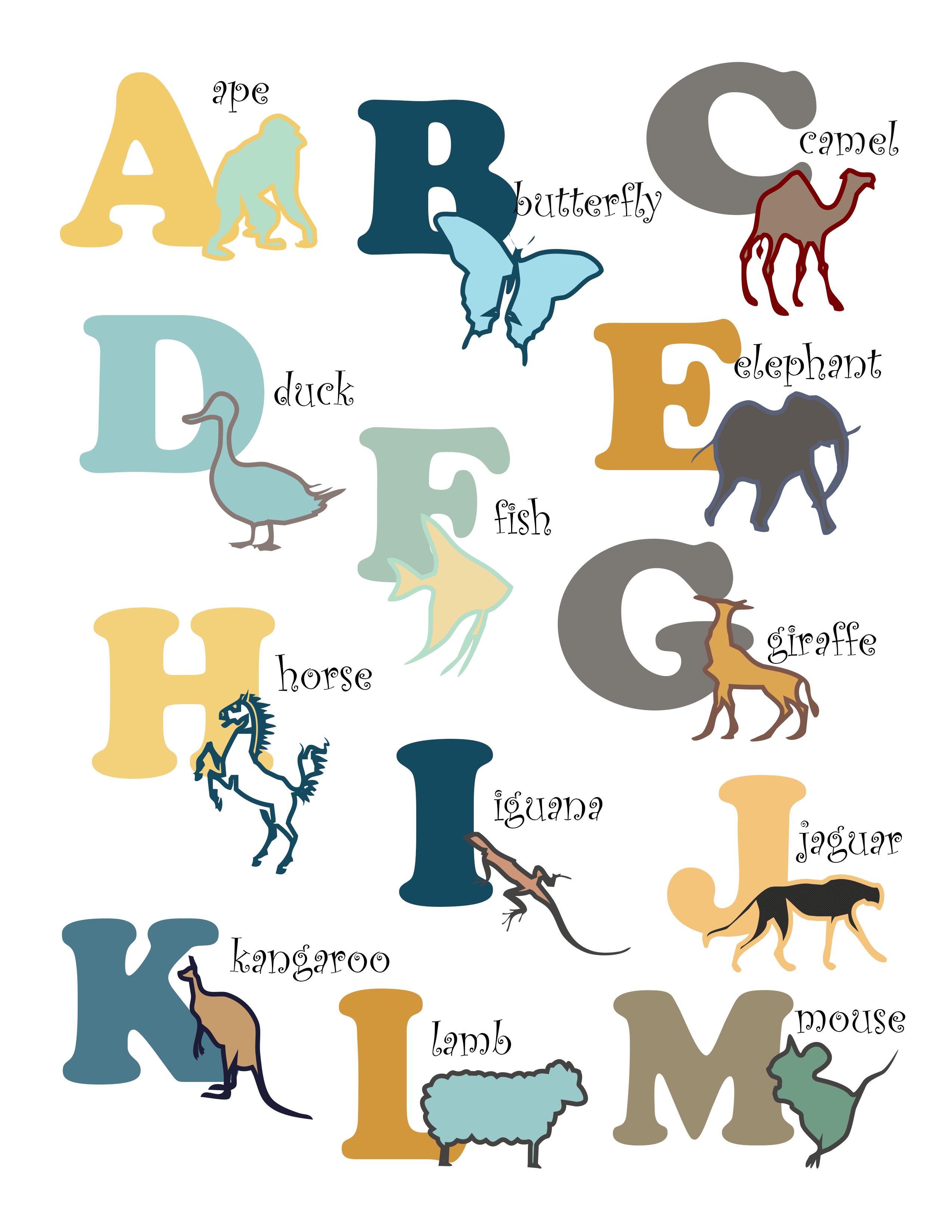 alphabet printable baby nursery pinterest nursery and