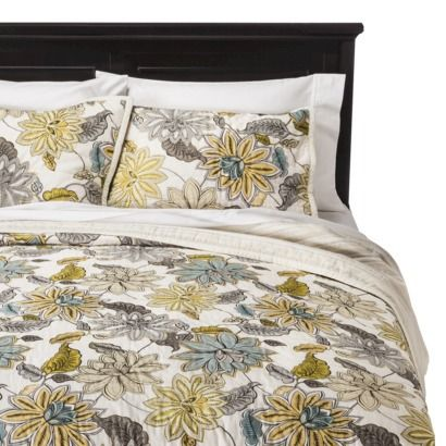 Master Bedroom Bedding Threshold™ Dutchwax Floral Quilt