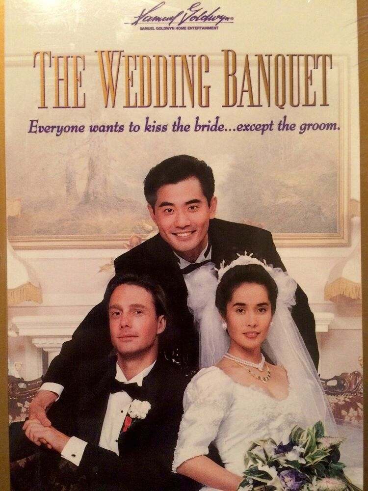 The Wedding Banquet 1993 Vhs New Sealed Ang Lee Foreign Film Banquet