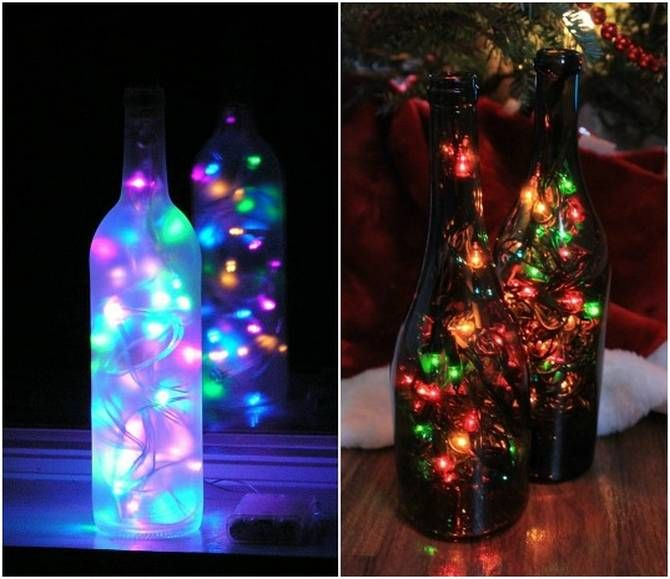 Wine bottle decorations 60 inspirational ideas home for Outdoor decorating with wine bottles
