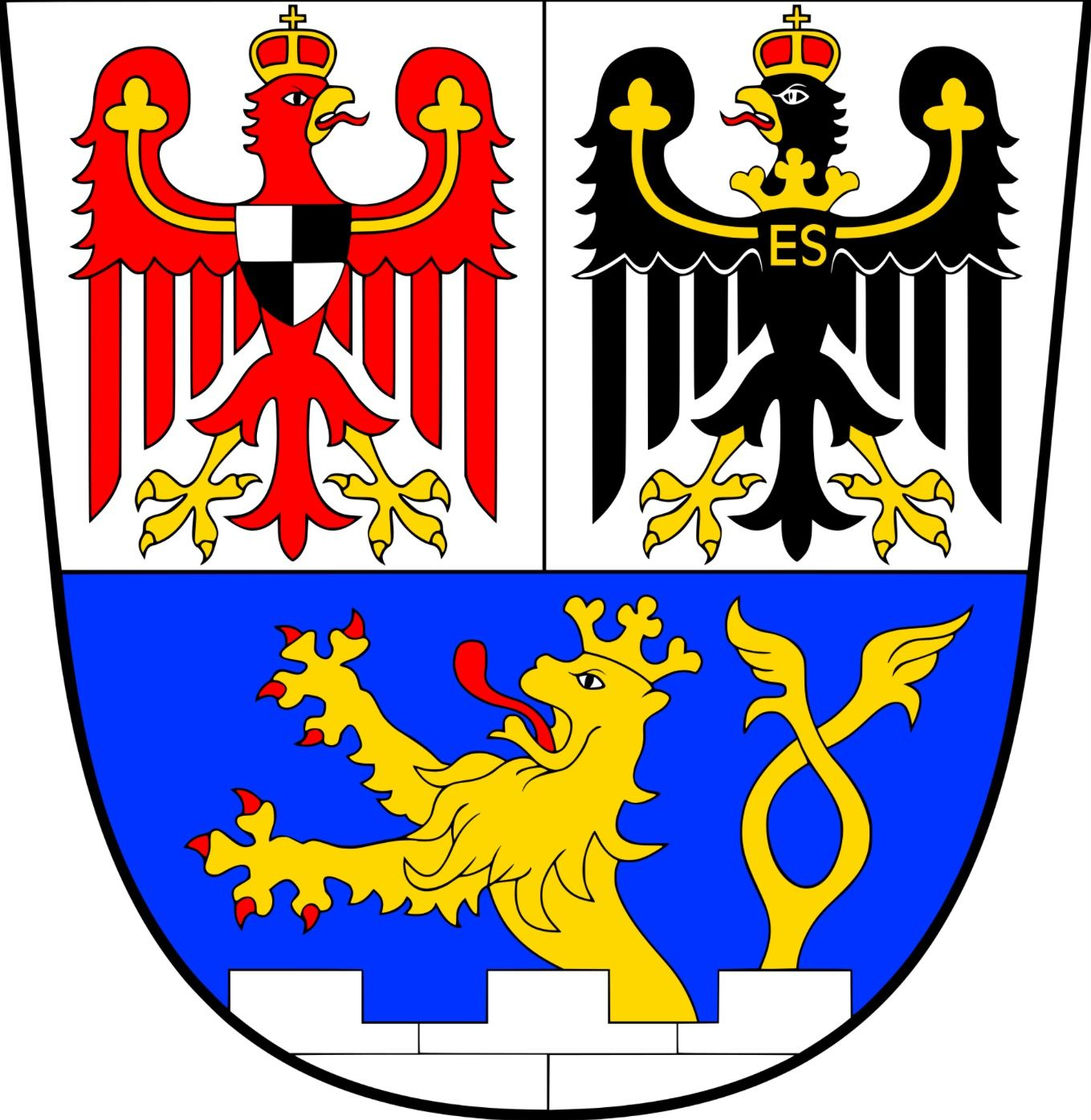 Erlangen 🇩🇪 | Coat of arms, Arms, Wall art canvas prints