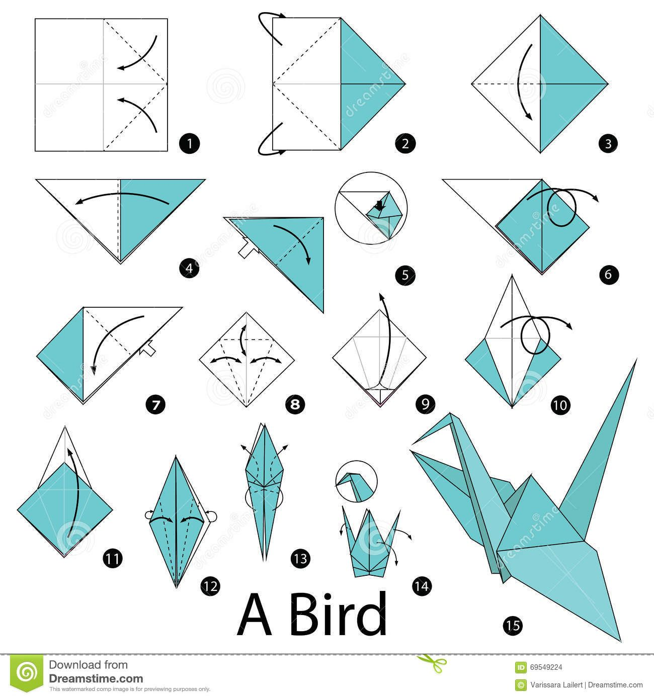 image result for origami instructions sweet 16