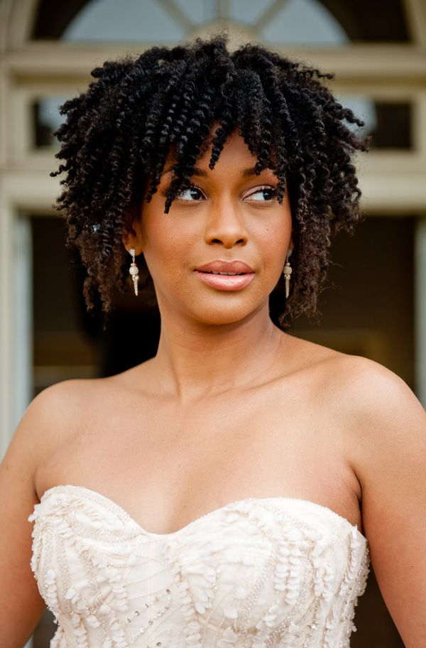 Tremendous 1000 Images About Natural Hair Styles For Wedding On Pinterest Hairstyles For Women Draintrainus