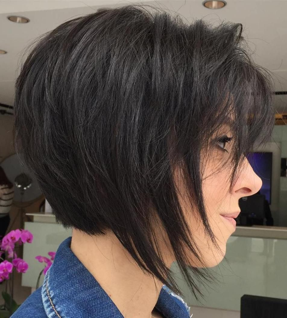 70 Cute And Easy To Style Short Layered Hairstyles Dark Brown