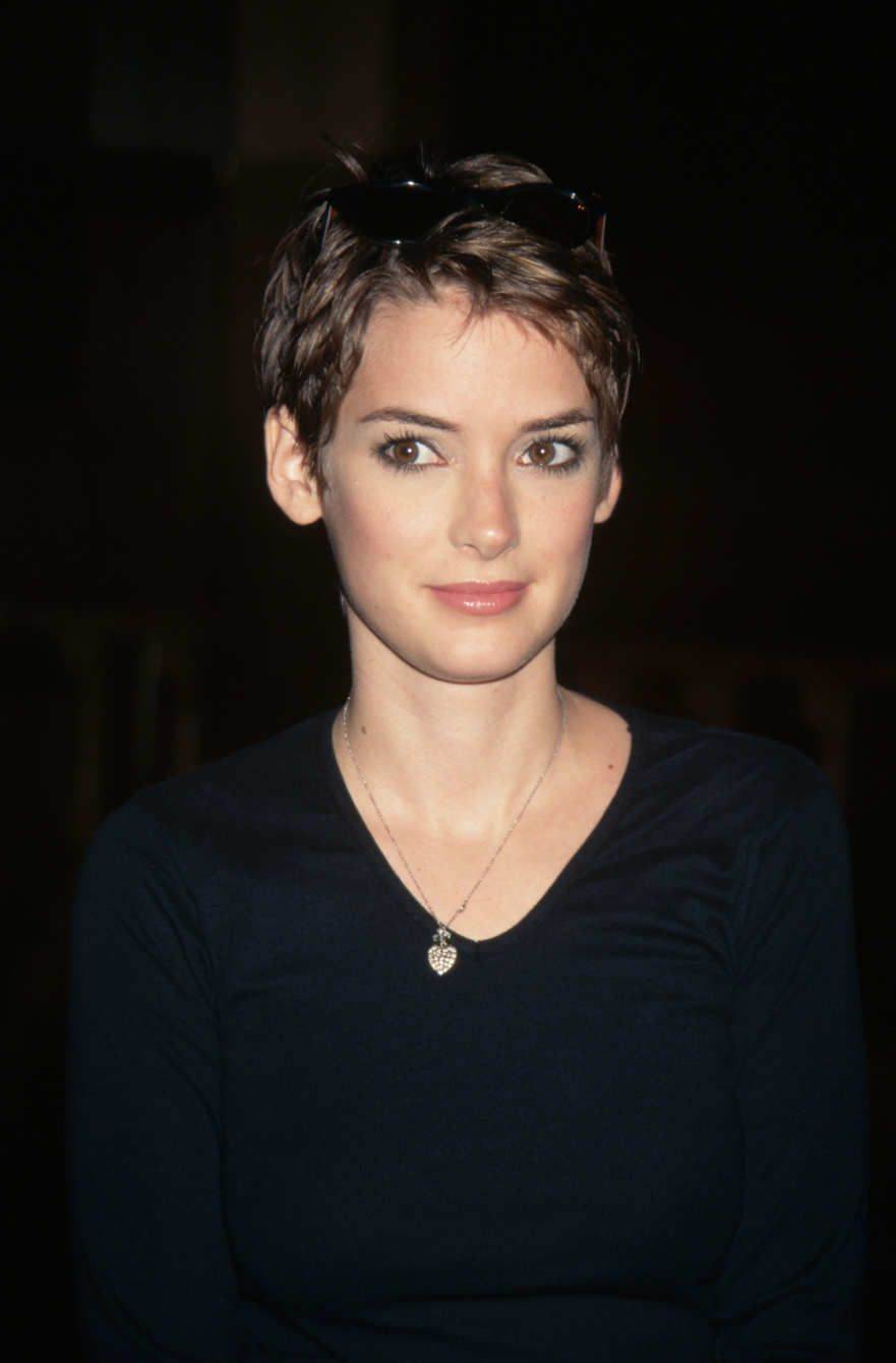 Winona ryder hair and beauty pinterest winona ryder pixies