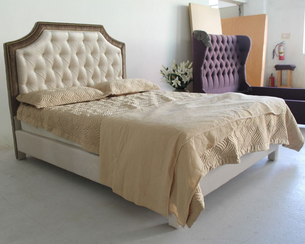 Cabeceras tapizadas buscar con google ideas para el for Cabeceros de cama tapizados