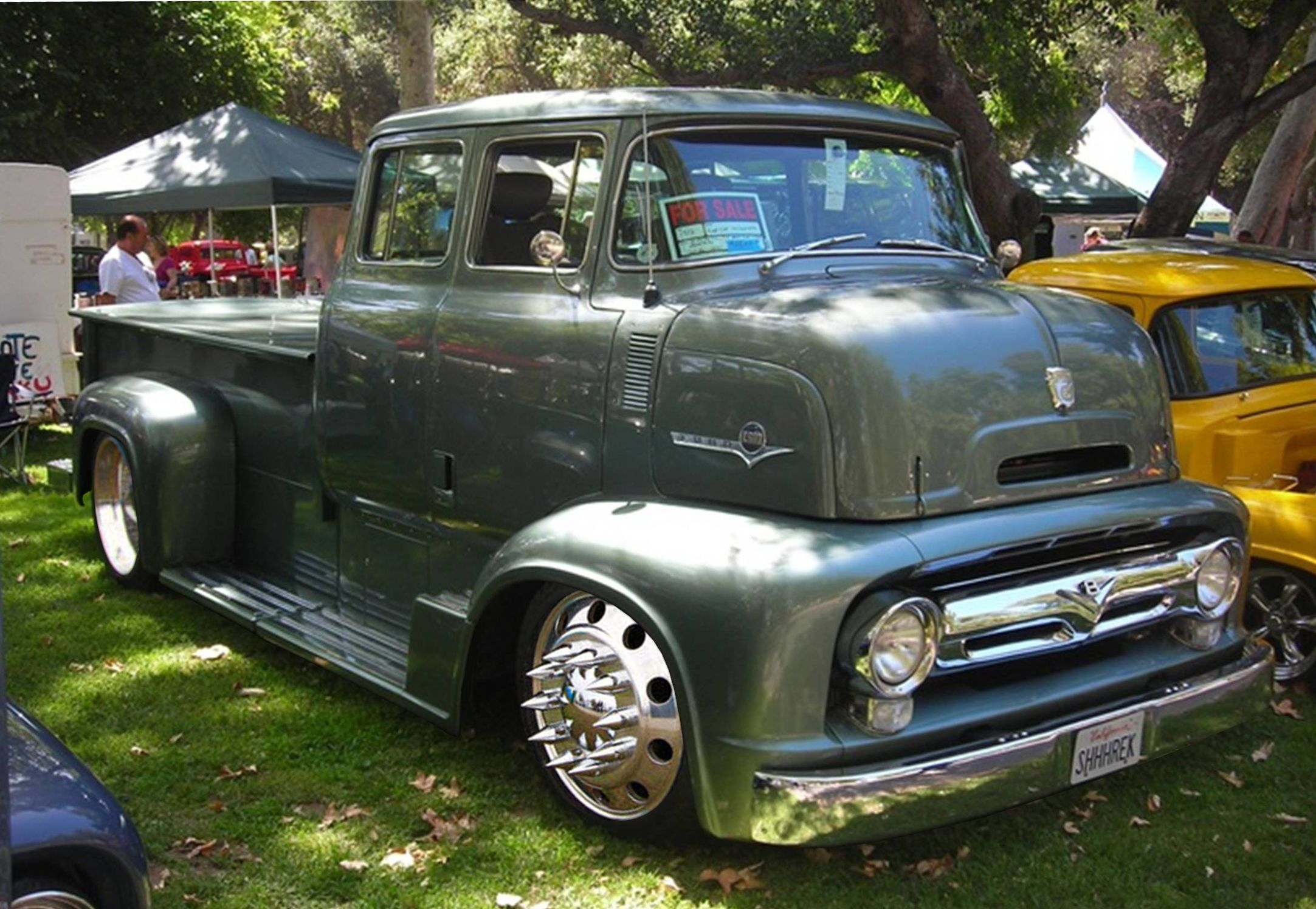 1956 Ford C500 Quad Cab Maintenance/restoration of old/vintage ...