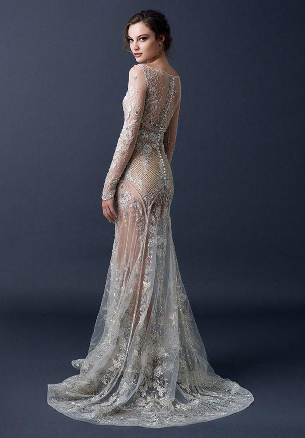 Bronze Wedding Dress