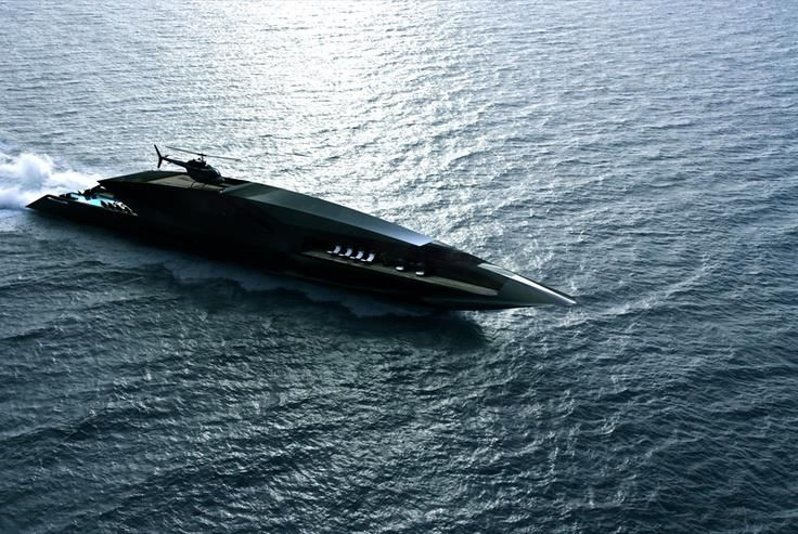 Black Swan Super Yacht