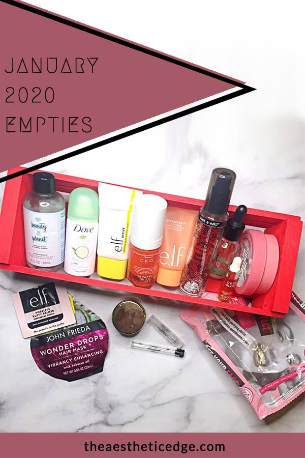 #empties #skincare #beauty #cosmetics #blog #bblog #beautyblogger #beautyblog #blogging #review #theaestheticedge #blogger #beautybloggers #instablog #bloggerlife #makeup