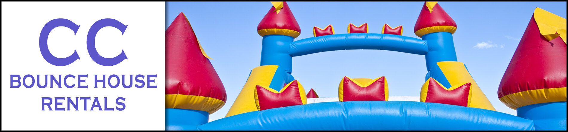 Cc bounce house rentals is a bounce house and water slide