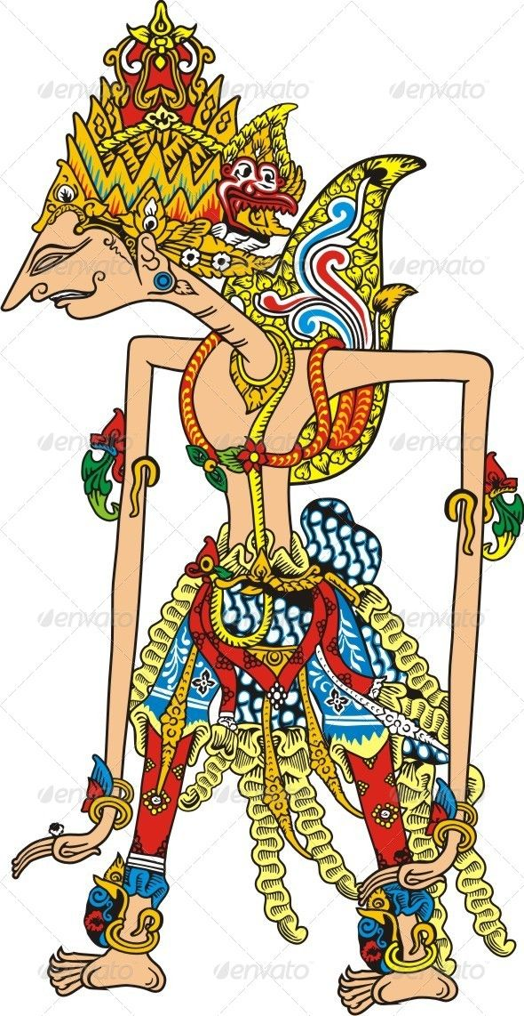Javanese Puppet Graphicriver Historic Puppet Of Java Indonesia Created 26 November 13 Grap