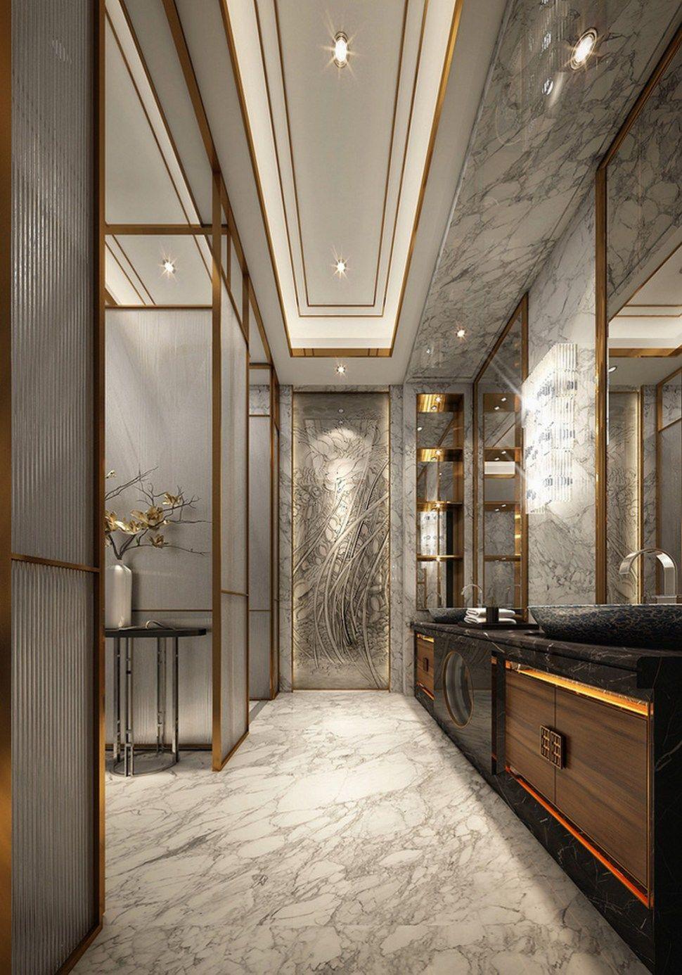 Modern And Luxury Bathroom Design Ideas 13 Contemporary Master Bathroom Bathroom Design Luxury Modern Master Bathroom