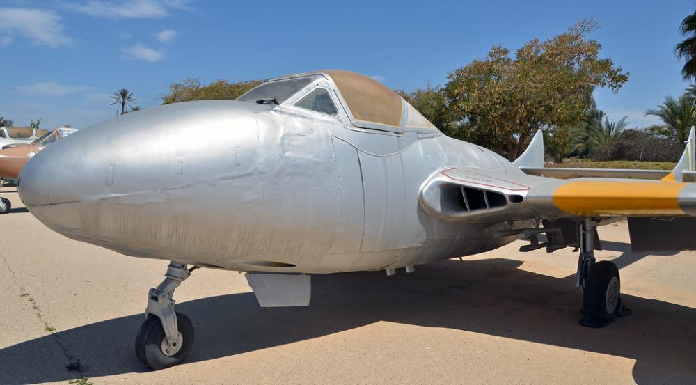 ExEgyptian Air Force De Havilland Vampire in 2020 De