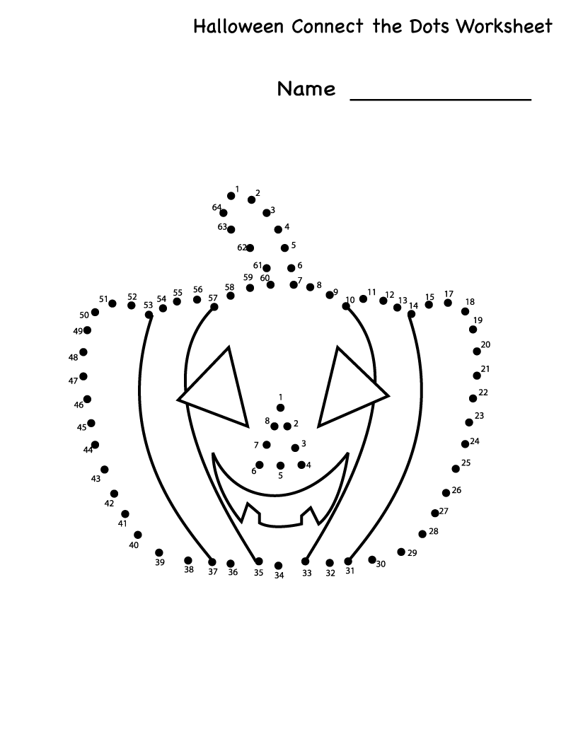 Connect The Dots Worksheets For Kids Dot Worksheets Santa Coloring Pages Connect The Dots [ 1035 x 800 Pixel ]