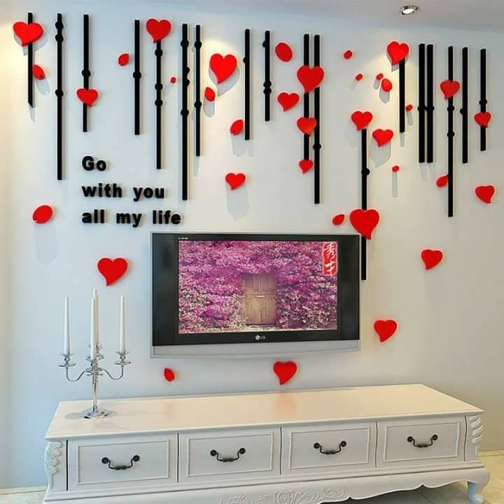 Room Decorate With Paper