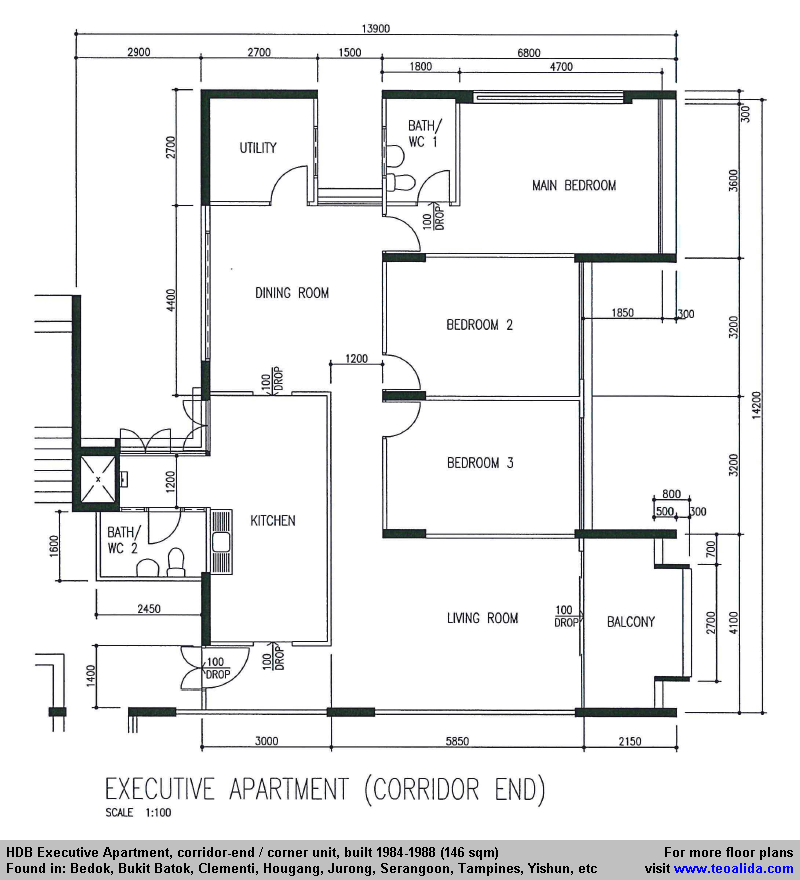 The Best Singapore Hdb Executive Apartment Floor Plan And Review Condo Floor Plans Floor Plans Apartment Floor Plan