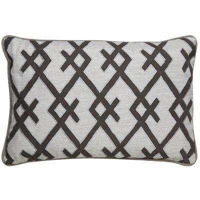 Mistana Ryley Geometric Pattern Rectangular Throw Pillow