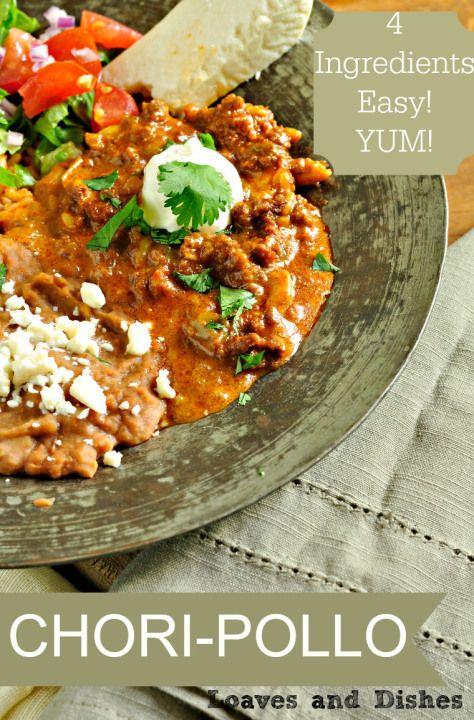 Chori-Pollo #mexicandishes