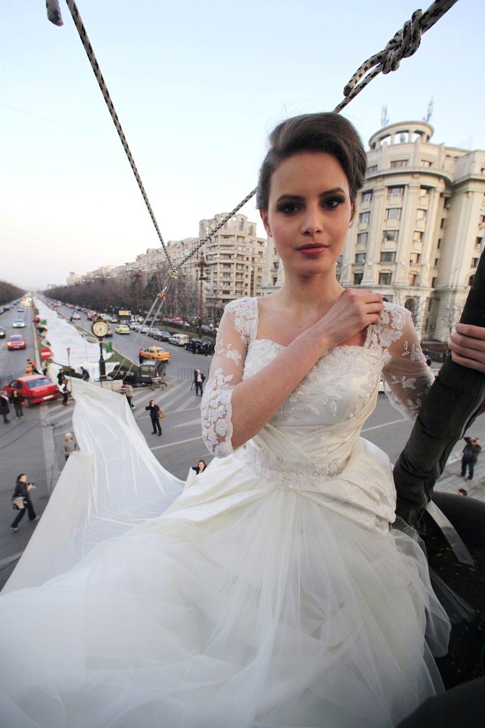 World's Longest WeddingDress