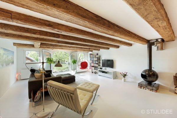 Interieur Woning Prinseneiland : Binnenkijken in een pakhuis op prinseneiland in amsterdam