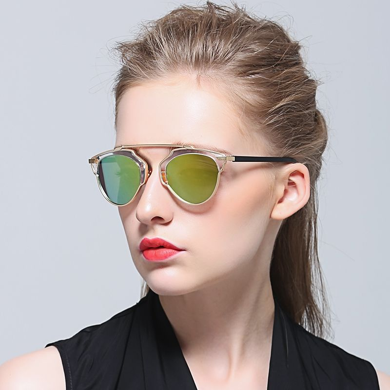 $32.30 (Buy here: alitems.com/... ) Summer Fashion Sunglasses Women Cat Eye Butterfly Alloy Frame Oculos UV400 Famous Brand Designer Sunglasses for just $32.30