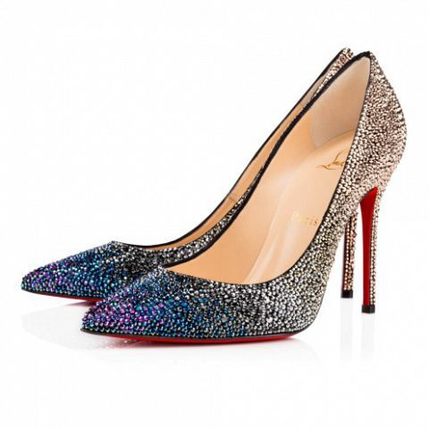 Shoes 554 Louboutin Christian Zapatos Strass Decollete Zrnqa7UZ
