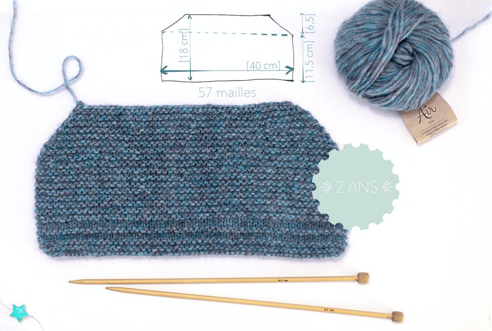 tuto-beguin-lutin-tricot-nanikaa   chapeaux écharpes   hat scarves ... 26e56b7c9e9