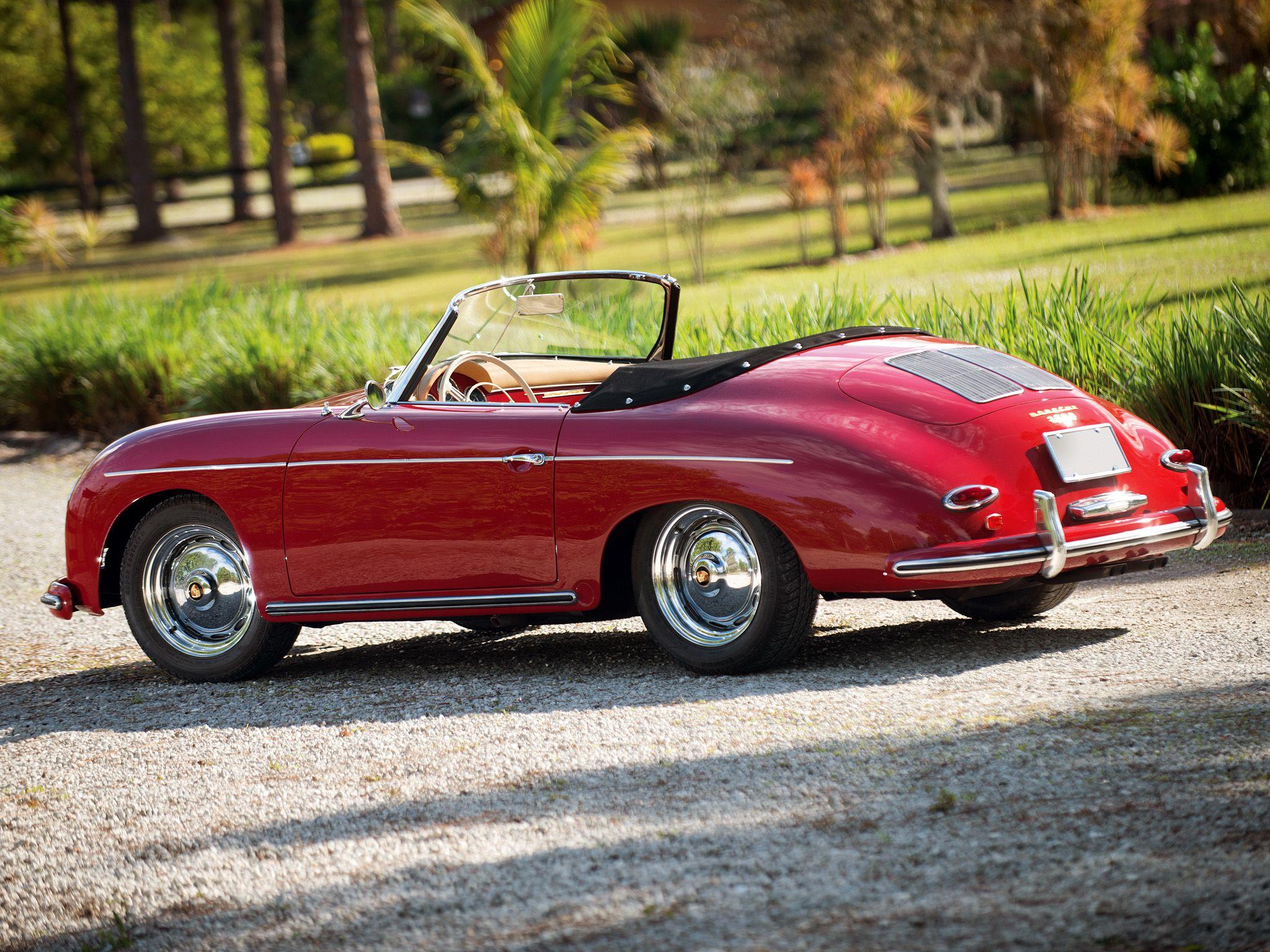 Porsche 356a 1600 Super Roadster By Reutter Us Spec T2 1958 59 Porsche 356a Porsche Roadsters