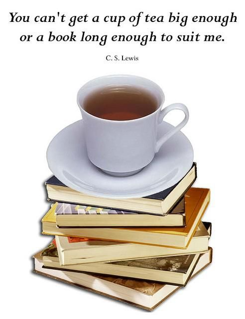 Books And Tea (only I Prefer My Tea White!)