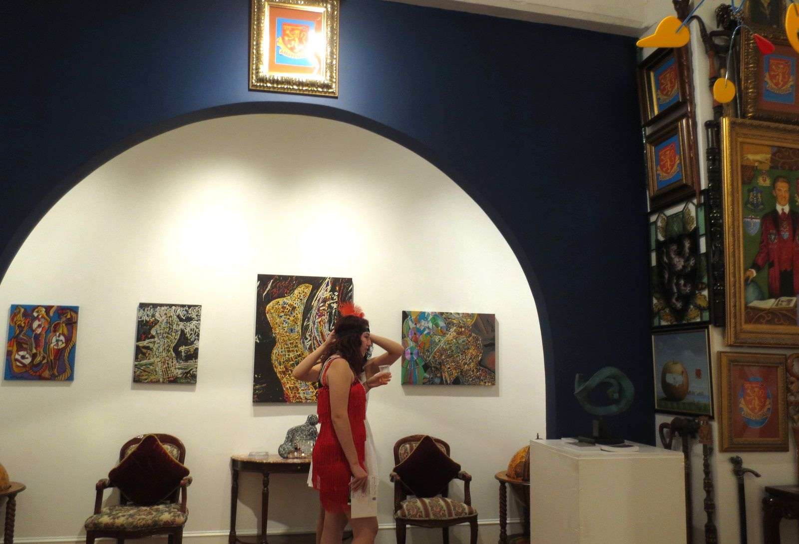 """AUGUST 29 - SEPTEMBER 30, 2014 Exhibition and """"CHELSEA - GREAT GATSBY ROARING 1920's"""" Fete and Gala Champagne Reception September 4, 2014"""