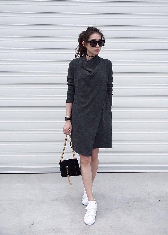 Cos vestidos mínimos stansmith Adidas Zapatillas minimalistas
