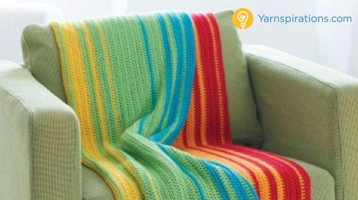 Crochet Spectrum Afghan