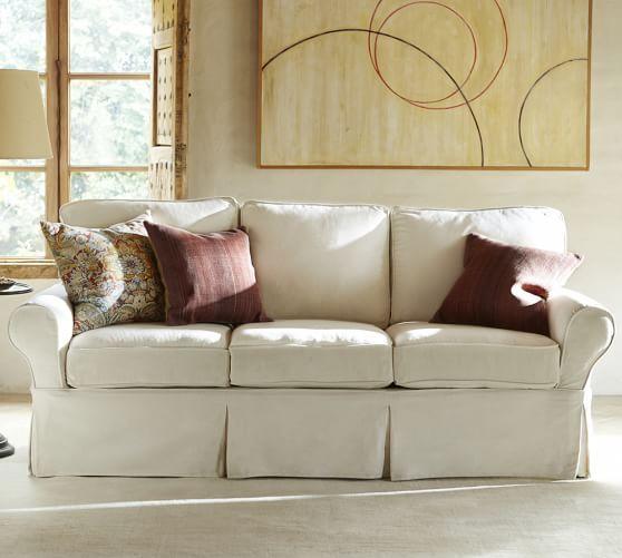 Pb Basic Slipcovered Sofa Furniture Slipcovers Slipcovered Sofa Slipcovers